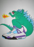 Nike Godzilla by Howard80