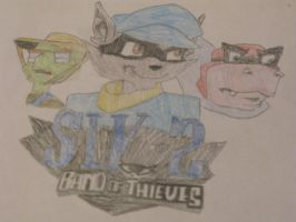Sly 2 Band of Thieves Logo by SlyCooperRocks101
