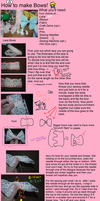 How To [Lolita]: Make Bows Part 1 by missgnomeluvr