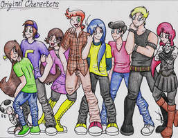Original Characters. by HamSamwich