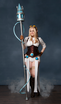 Hextech Janna Cosplay 3 by DemoraFairy