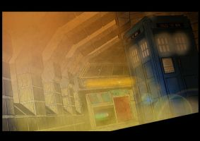 Dr Who Panel - Coloured by Kmadden2004