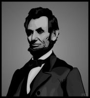 Vector Art - Abraham Lincoln by rames