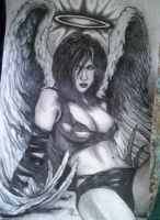 angel with dirty wings by str8twisted13x