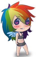 Rainbow Dash Chibi by Britty-Mae