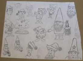 Gnome/Elf Concept Art by JasonYoungdale
