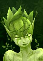 Dryad by Lily-Fu