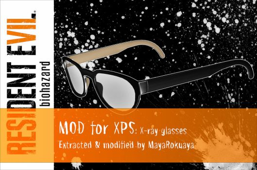 MOD for XPS: X-ray glasses by MayaRokuaya