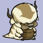 Avatar Appa and Sakka from