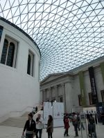 British Museum roof by kwizar