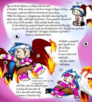 Legend of Norlight and riverloon by ShadowtailsDerol