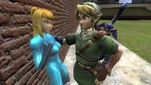 Brawl Link in Gmod testing by Ryu-Gi