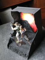 Resident Evil 5 Diorama 001 by ultimategallo