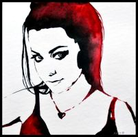 Painting- Amy Lee by Ennete