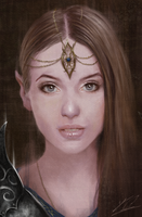 Fantasy Elf Portrait by Jay-Carpenter