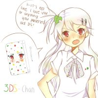 Little Tsundere 3DS-Chan by Mara-n