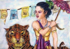The Lady and the Tiger by AlexisLynch
