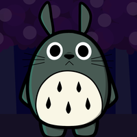 Totoro by Coonstito