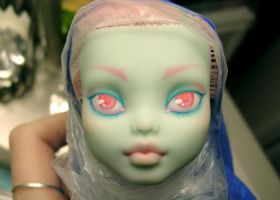 Monster High Custom WIP by blk-kitti