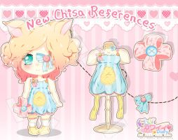 Oc References - Chisa Nyan FIXED by RinaShuu