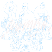 WWE - lines final by theCHAMBA