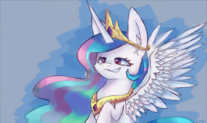 Princess Celestia by AquaDiamonds
