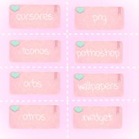 Gallery DeviantArt  icons pink by CookiiePinkBeautifol