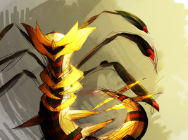 dragon by Larvesta