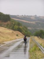 Riding The Wet Road by Pipera