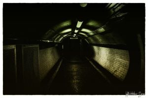 The Darkness at the end of the tunnel by Hitchhikerdave