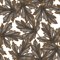 Leaves Pattern by Yagellonica