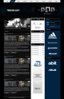 Proficient Gaming Website by zblowfish