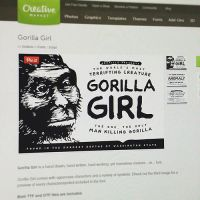 Done! Gorilla Girl, A Font Created by Yours Truly by graticle