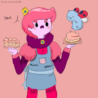 Gumball and Catbug by SuperTuffPinkPuff