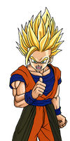 Teen Gohan SSJ2 - Alternativ Clothes by DaresX