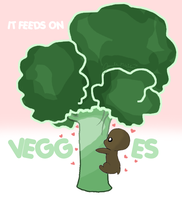 It Feeds On Veggies by WeisseEdelweiss