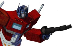 Optimus Prime by FatBonesSmith