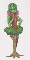 Plant woman by ThePsychoSloth