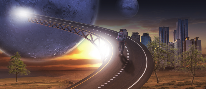 Road of life - Simple manipulation by OneDayGFX