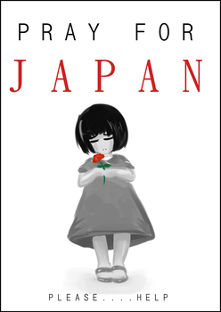 Pray for Japan...Please by Art-of-Kawaii