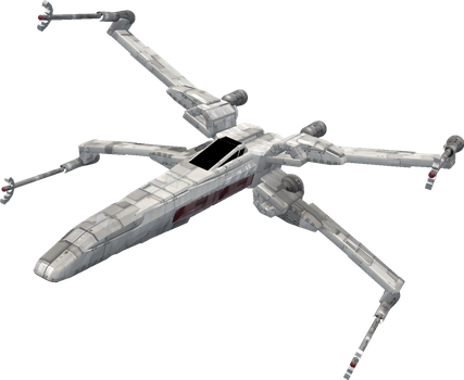 Spore: T-70 X-Wing Starfighter by Cyrannian