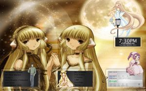Chobits Rainmeter by riyellev0