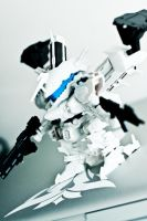 Armored Core White Glint by sycrunaway