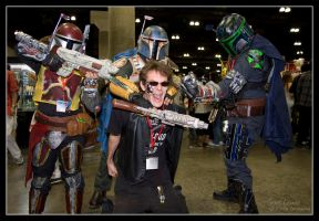 Attack of the Mandalorian by Virtu-Imagery
