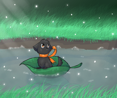 Leaf Boat by Kinarei