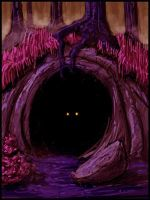 Dark Cave by Grinning-Oni