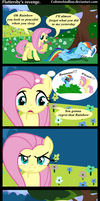 fluttershy's revenge by Coltsteelstallion