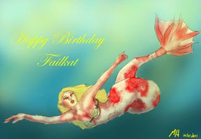 Happy Birthday Failkat by differentoctober