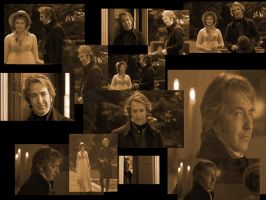 Alan Rickman Wallpaper by Sadadoki