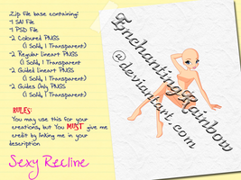 Sexy Recline - Paid Base Pack by EnchantingRainbow